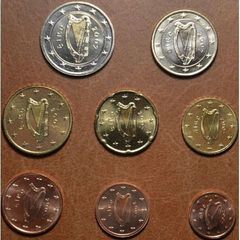 Set of 8 coins Ireland 2007 (UNC)