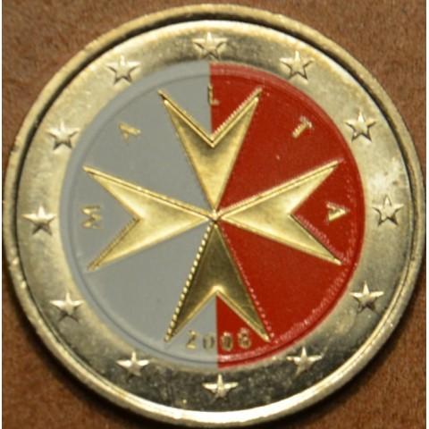 2 Euro Malta 2008 (colored UNC)