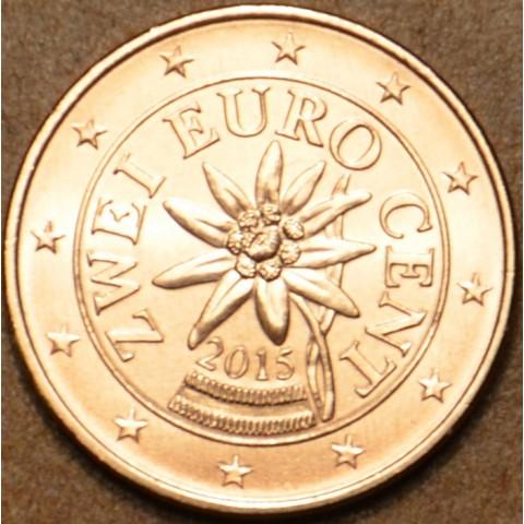 2 cent Austria 2015 (UNC)