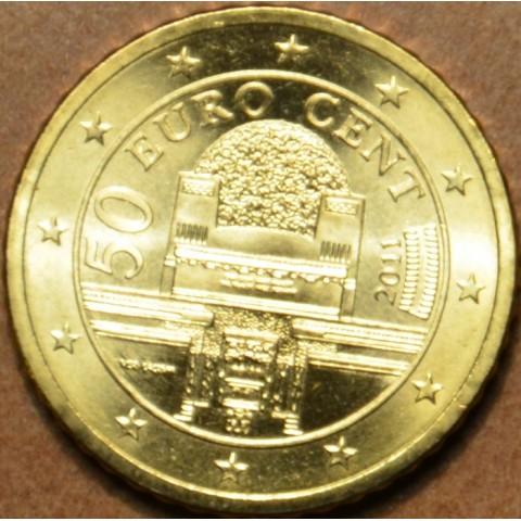50 cent Rakúsko 2011 (UNC)