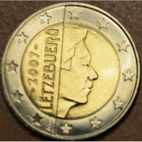 2 Euro Luxembourg 2007 (UNC)