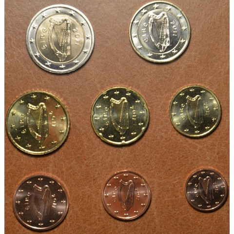 Set of 8 coins Ireland 2011 (UNC)