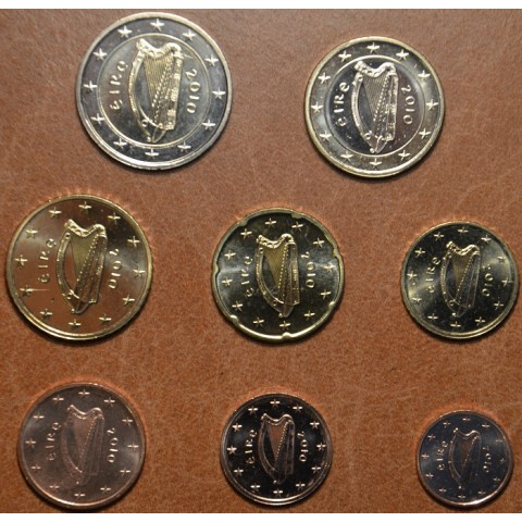 Set of 8 coins Ireland 2010 (UNC)