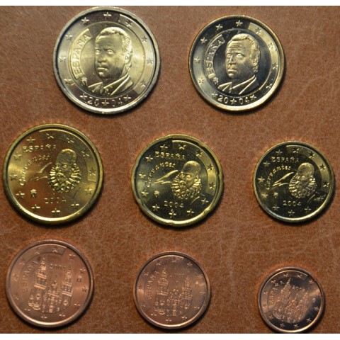 Set of 8 coins Spain 2004 (UNC)