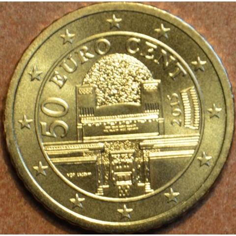 50 cent Rakúsko 2015 (UNC)