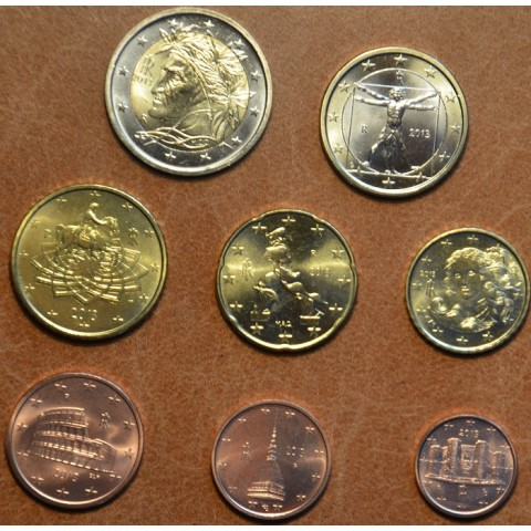 Set of 8 coins Italy 2013 (UNC)