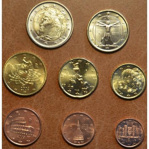 Sada 8 talianskych mincí 2009 (UNC)