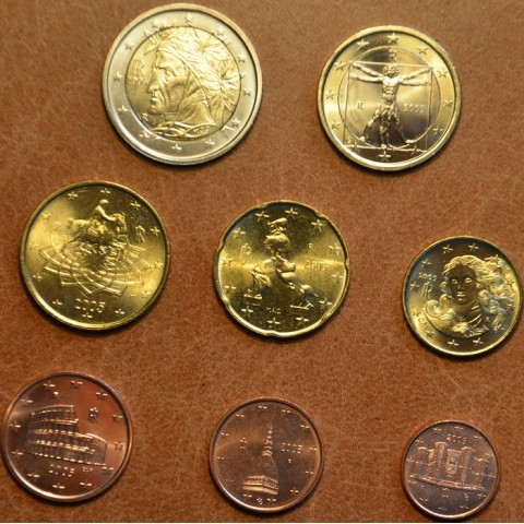 Set of 8 coins Italy 2005 (UNC)