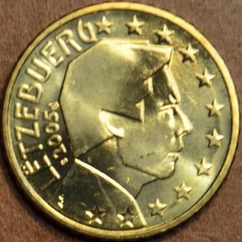50 cent Luxembursko 2005 (UNC)