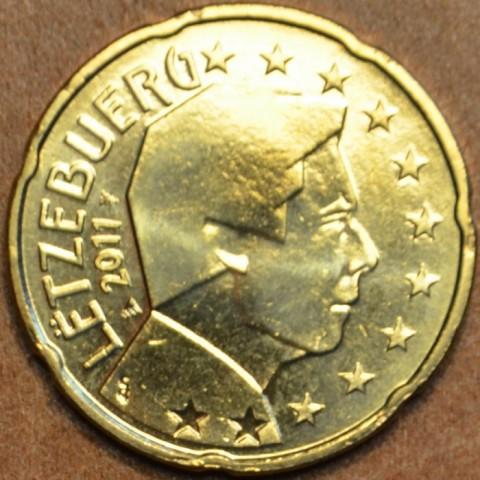 20 cent Luxembursko 2011 (UNC)
