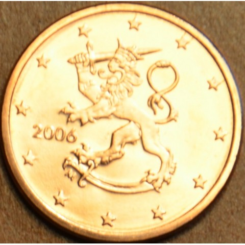 1 cent Fínsko 2006 (UNC)