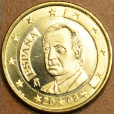 1 Euro Španielsko 2008 (UNC)