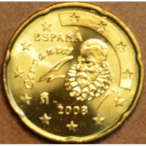 20 cent Španielsko 2008 (UNC)