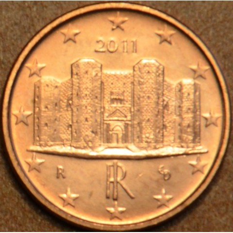 1 cent Italy 2011 (UNC)