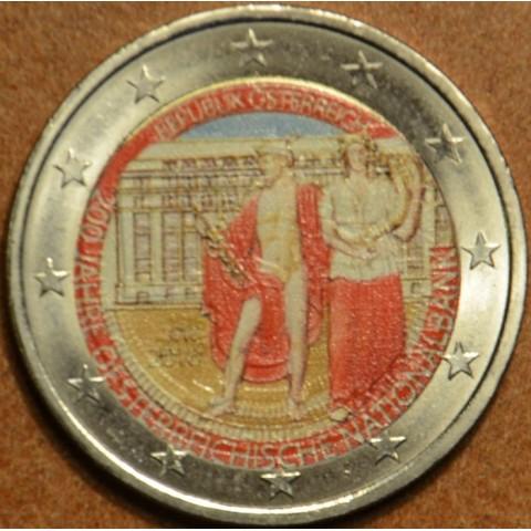 2 Euro Rakúsko 2016 - 200 rokov Rakúskej národnej banky (farebná UNC)
