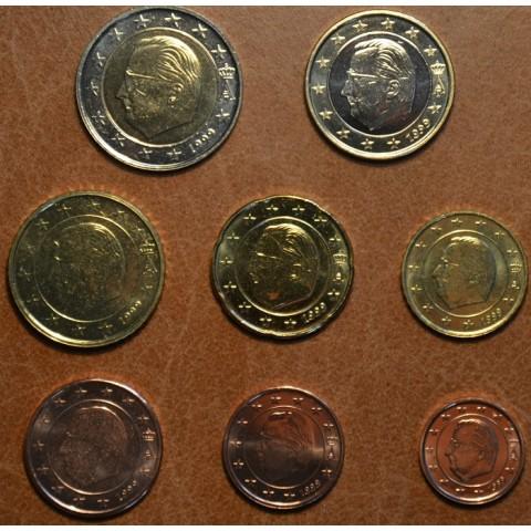 Sada 8 belgických mincí 1999 (UNC)