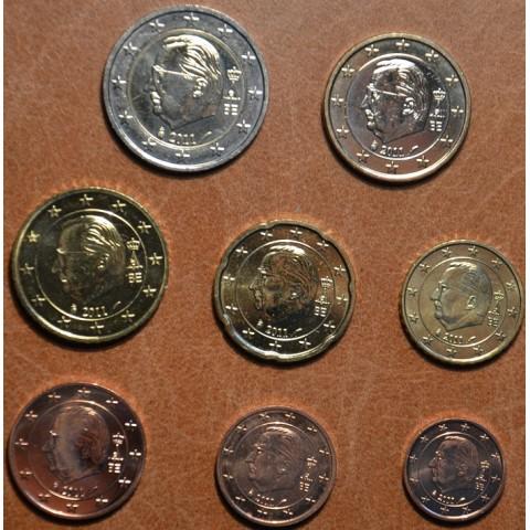 Set of 8 coins Belgium 2011 (UNC)
