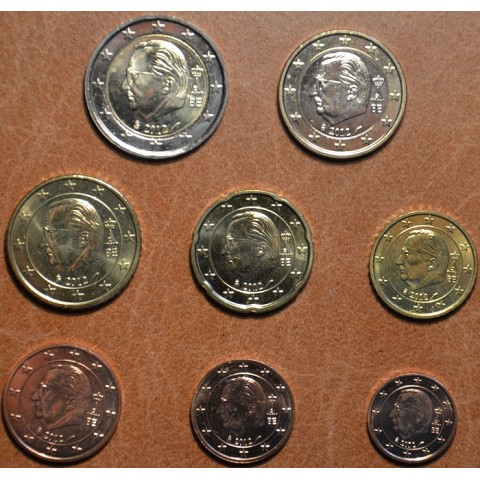 Set of 8 coins Belgium 2012 (UNC)