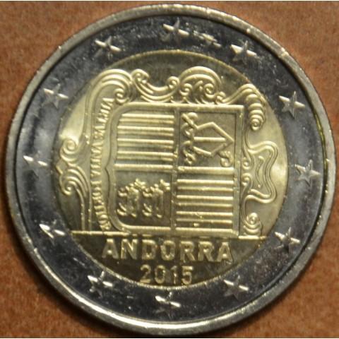 2 Euro Andorra 2015 (UNC)