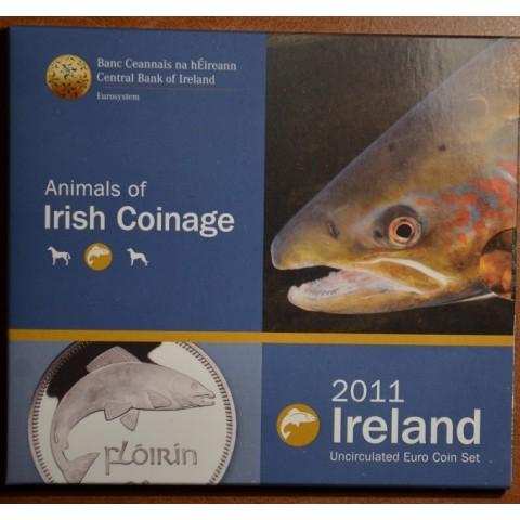 Súbor 8 Írskych mincí 2011 (BU)