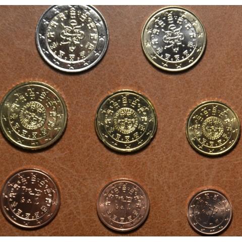 Sada 8 portugalských mincí 2007 (UNC)