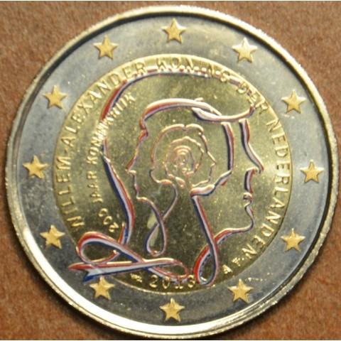 2 Euro Holandsko 2013 - 200 rokov kráľovstva II. (farebná UNC)