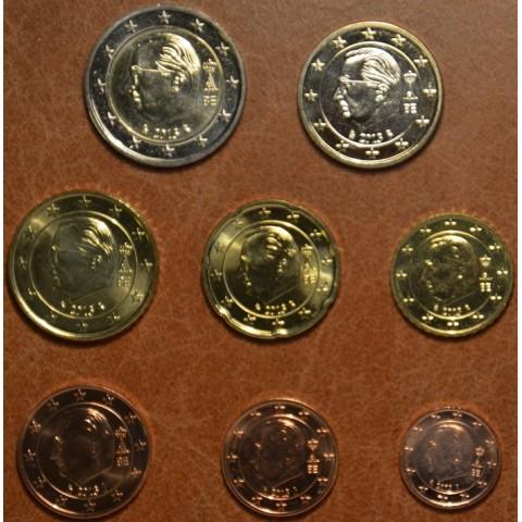 Set of 8 coins Belgium 2013 (UNC)