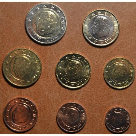 Sada 8 belgických mincí 2003 (UNC)