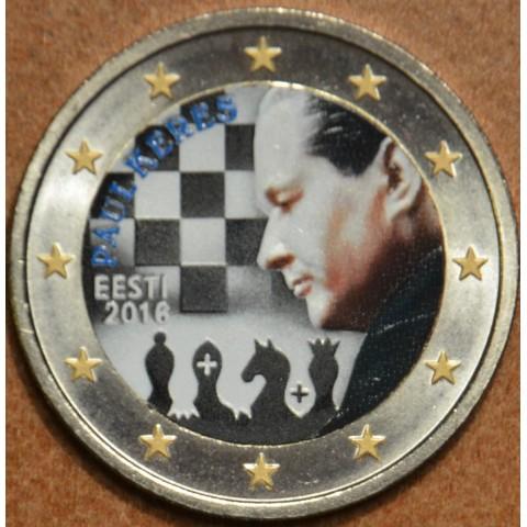 2 Euro Estónsko 2016 - Paul Keres II. (farebná UNC)