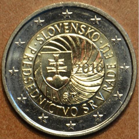 4af60a6cc Euromince mince 2 Euro Slovensko 2016 - Predsedníctvo EU (UNC)