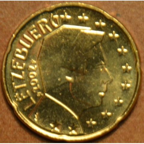 20 cent Luxembourg 2002 (UNC)
