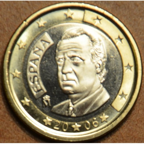1 Euro Španielsko 2006 (UNC)
