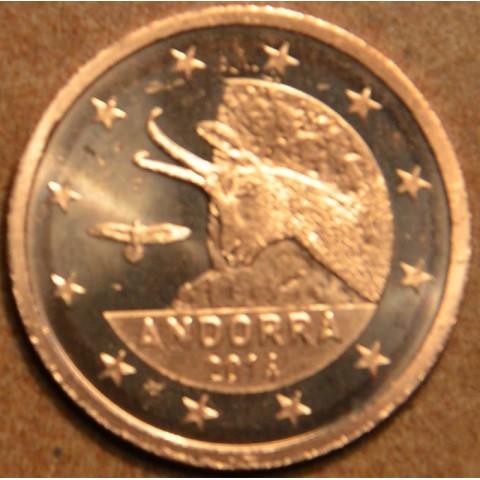 1 cent + 2 cent Andorra 2014 (UNC)
