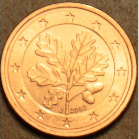 "2 cent Germany ""J"" 2002 (UNC)"