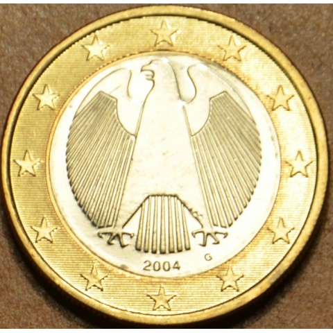 "1 Euro Nemecko ""G"" 2004 (UNC)"