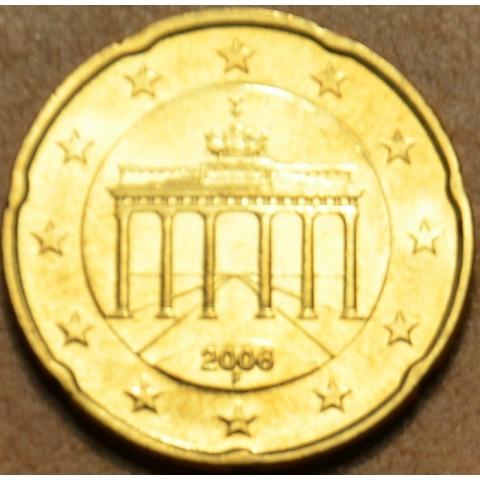 "20 cent Nemecko ""F"" 2006 (UNC)"