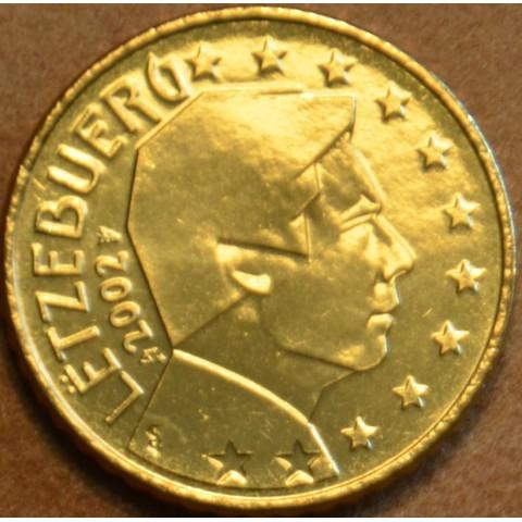 50 cent Luxembursko 2002 (UNC)