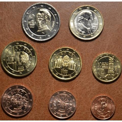 Set of 8 coins Austria 2002 (UNC)