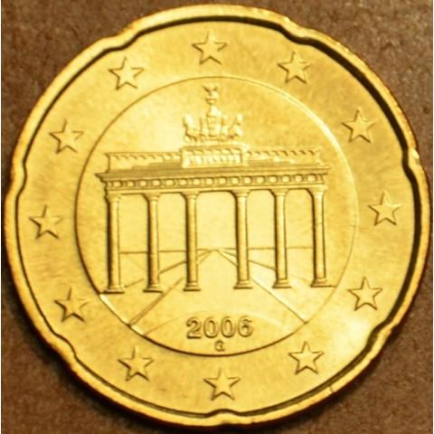 """20 cent Nemecko """"G"""" 2006 (UNC)"""