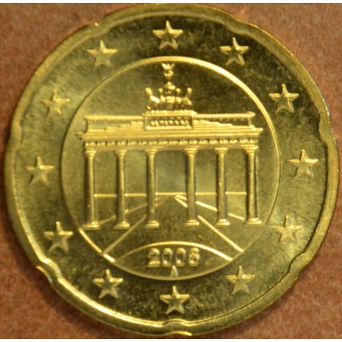 """20 cent Germany """"A"""" 2006 (UNC)"""