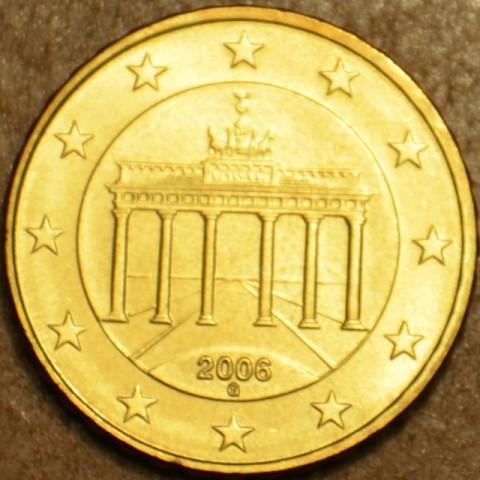 """50 cent Nemecko """"G"""" 2006 (UNC)"""