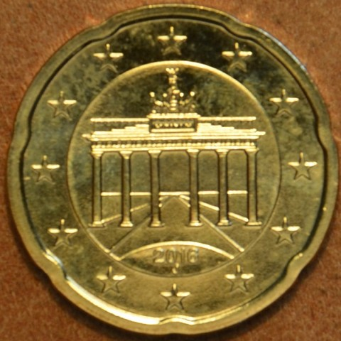 """20 cent Germany """"A"""" 2016 (UNC)"""