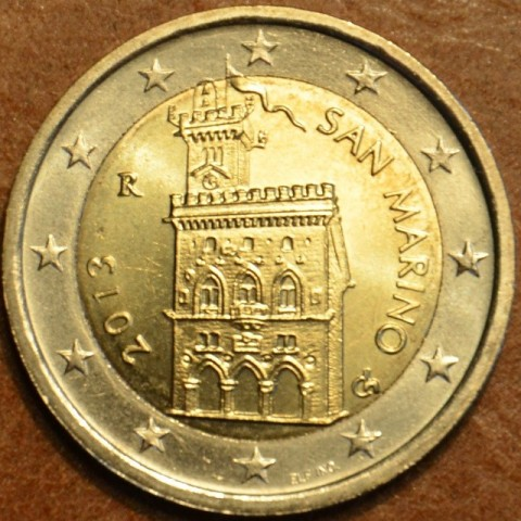 2 Euro San Marino 2013 - Government House (UNC)
