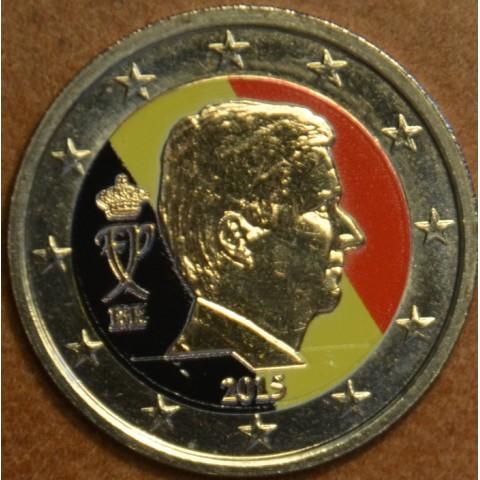 2 Euro Belgium 2015 (colored UNC)