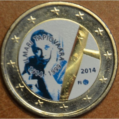 2 Euro Finland 2014 - 100th Anniversary of Ilmari Tapiovaara III. (colored UNC)