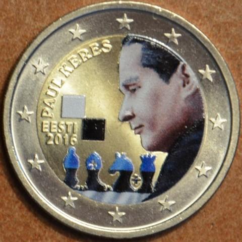 2 Euro Estónsko 2016 - Paul Keres III. (farebná UNC)