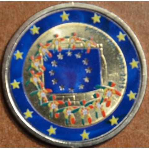2 Euro Portugal 2015 - 30 years of European flag II.  (colored UNC)