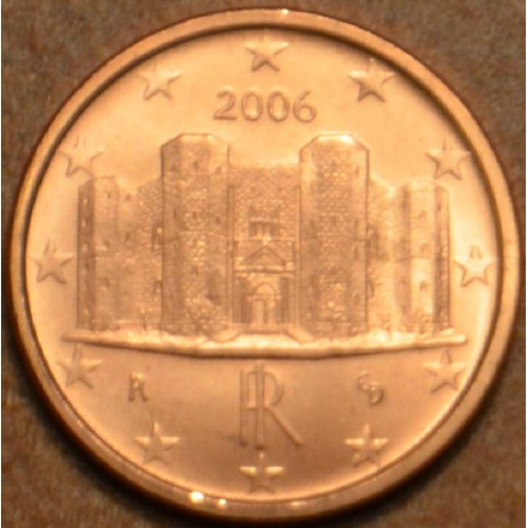 1 cent Italy 2006 (UNC)