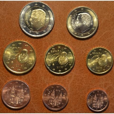 Set of 8 coins Spain 2016 (UNC)