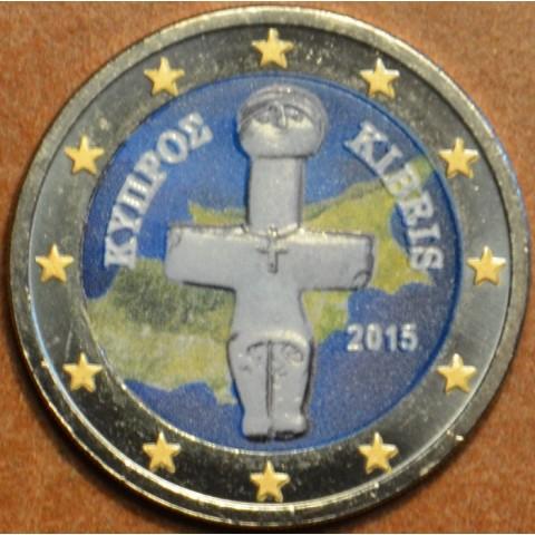 2 Euro Cyprus 2015 (farebná UNC)